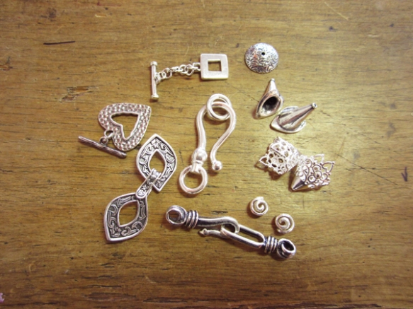 Silver Plated Bronze Findings