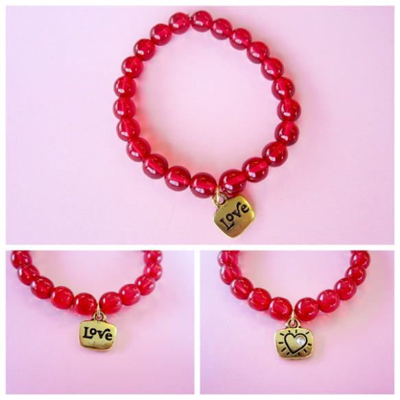 Valentines Love Bracelet