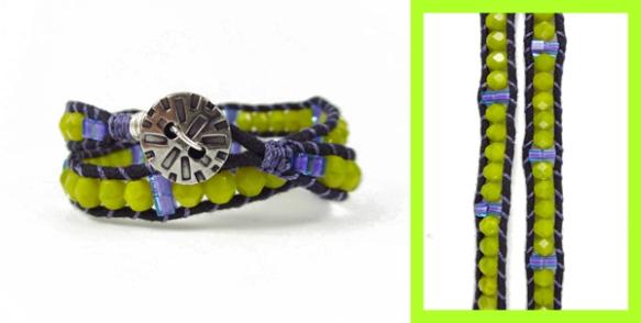 Dayglow Channel Bracelet
