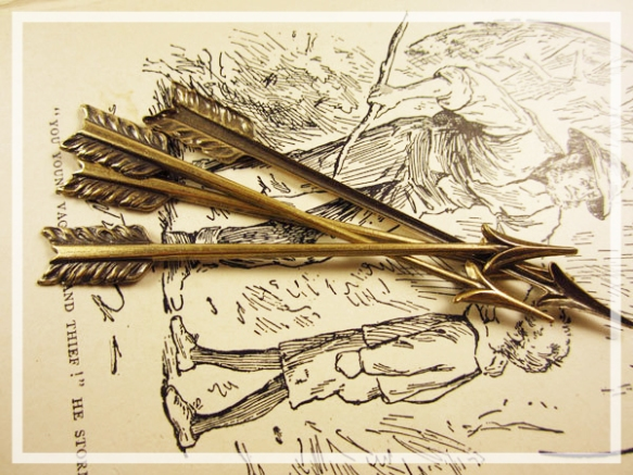 Antique Brass Arrows