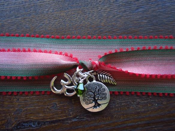 Yoga Wrap Bracelet in Silver